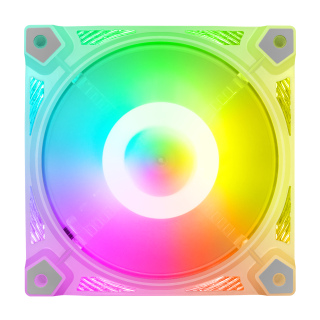 Tuosi Quạt Ốp COOLMOON Đèn RGB 12Cm Điều Khiển Từ Xa Quạt Làm Mát PC, Dành Cho Gia Đình thumbnail