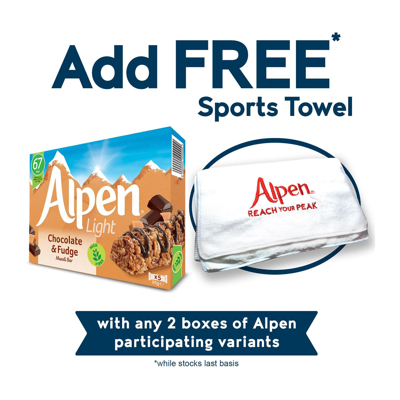 Alpen Light Chocolate and Fudge Bars