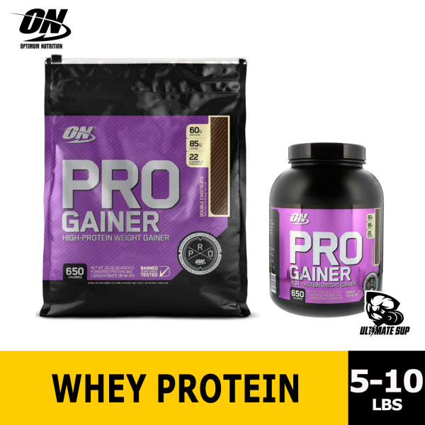 Buy Optimum Nutrition, PRO GAINER, High-Protein Weight Gainer, Double Chocolate, 5.09 lbs Singapore