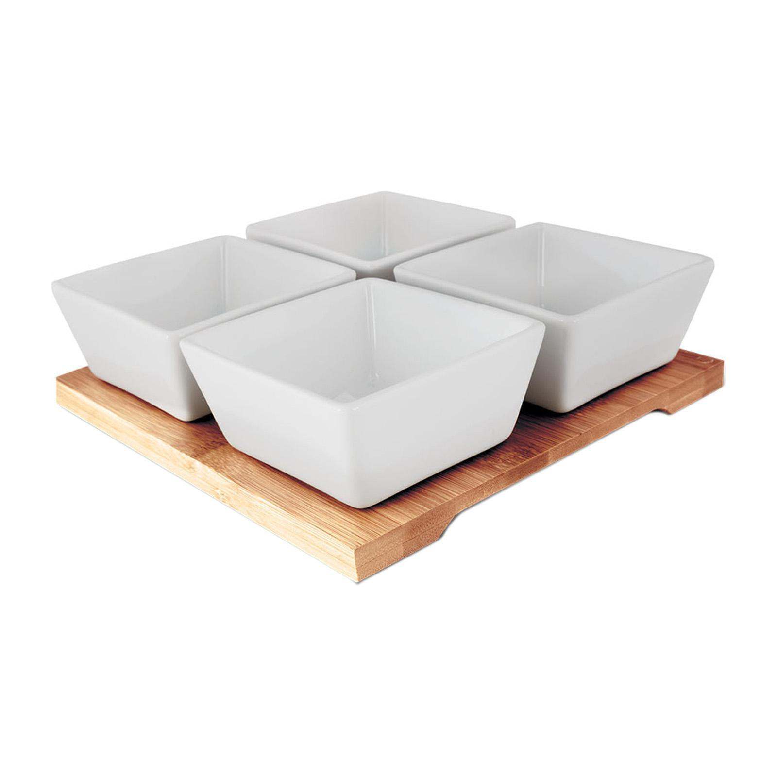 Lamart Serving Bowls - Porcelain - Bamboo