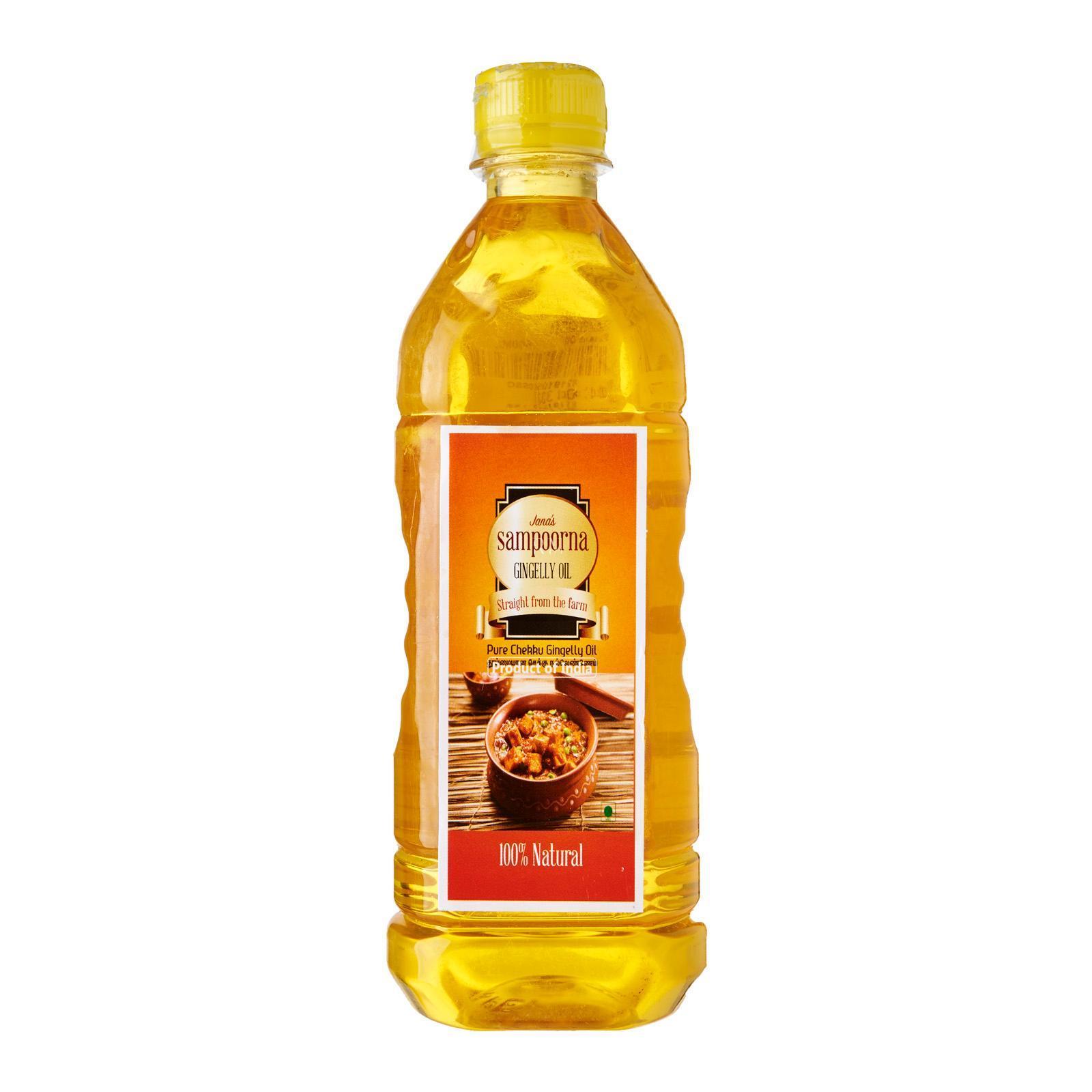 Sampoorna Chekku / Metal Pressed Sesame Oil By Redmart.