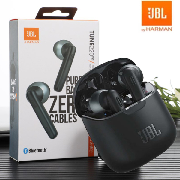 For JBL TUNE 220 TWS True Wireless Bluetooth Earphones T220TWS Stereo Earbuds Bass Sound Headphones Head Singapore