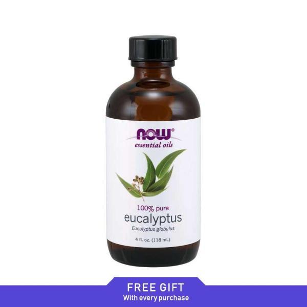 Now Foods, Essential Oils, Eucalyptus, 4 fl oz (118 ml)