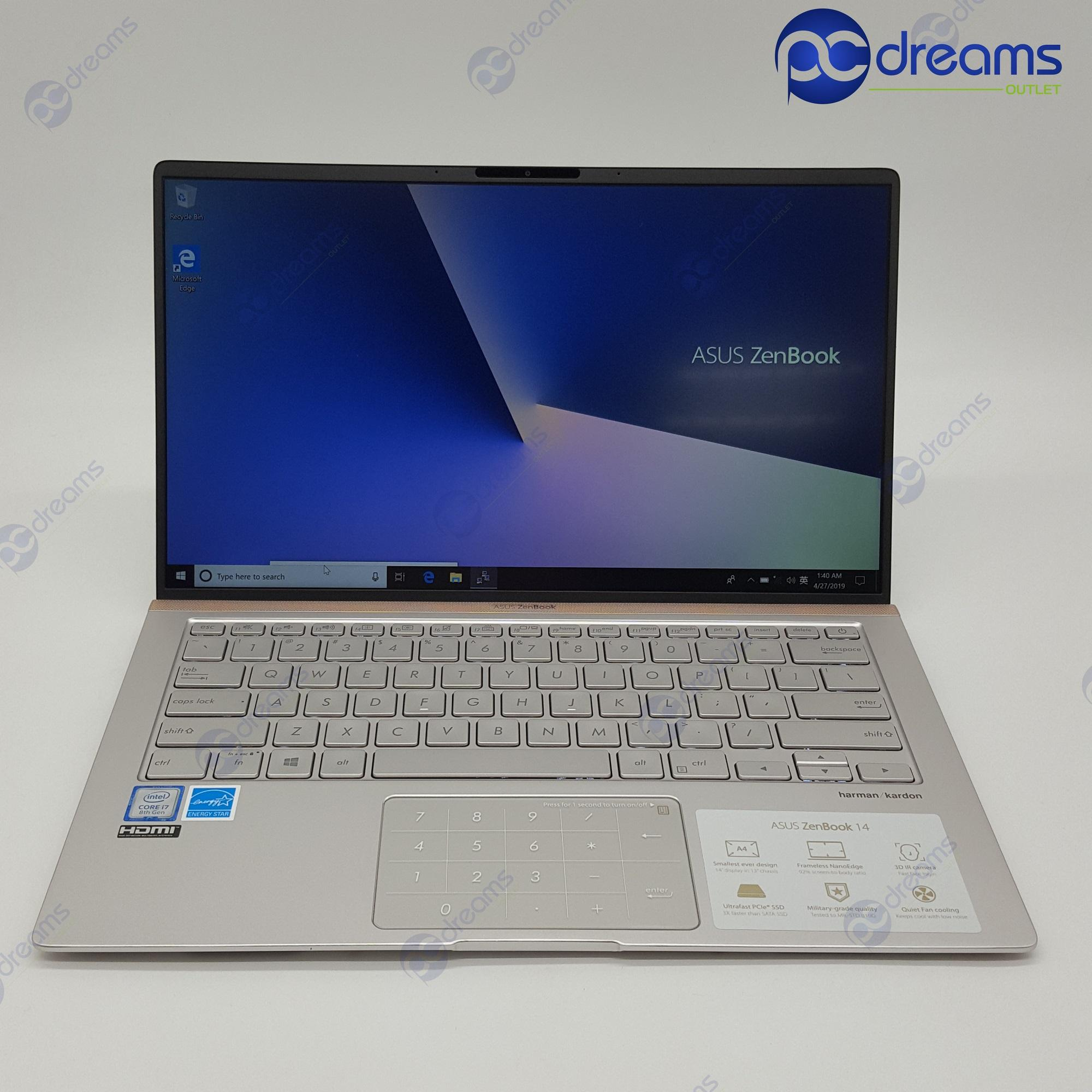 ASUS ZENBOOK UX433FA-A5130T i7-8565U/8GB/256GB PCIe SSD [New Reconditioned]