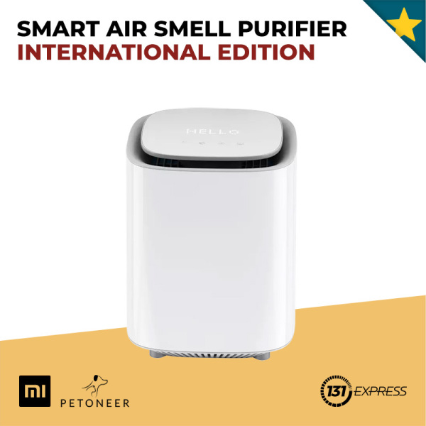 Xiaomi Petoneer Smart Smell Purifier [ AOE020, International Edition, Air Purifier, HEPA, UV-C Light, APP Control, 5-stage Purification, Deodorise, Radar Sensor, LED Touch Panel, Odor Eliminate, Filter Particles, Activated Carbon Filter, Air Treatment ] Singapore