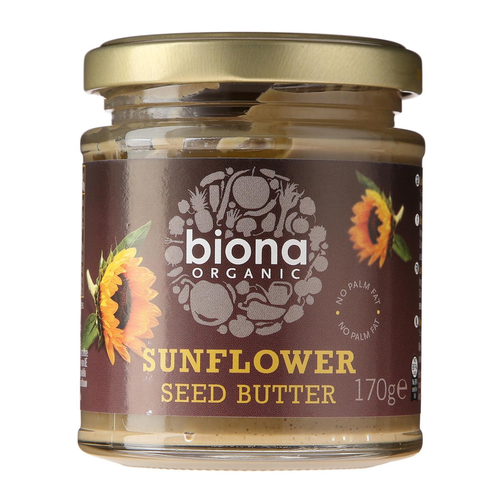Biona Organic Sunflower Seed Butter - By Wholesome Harvest