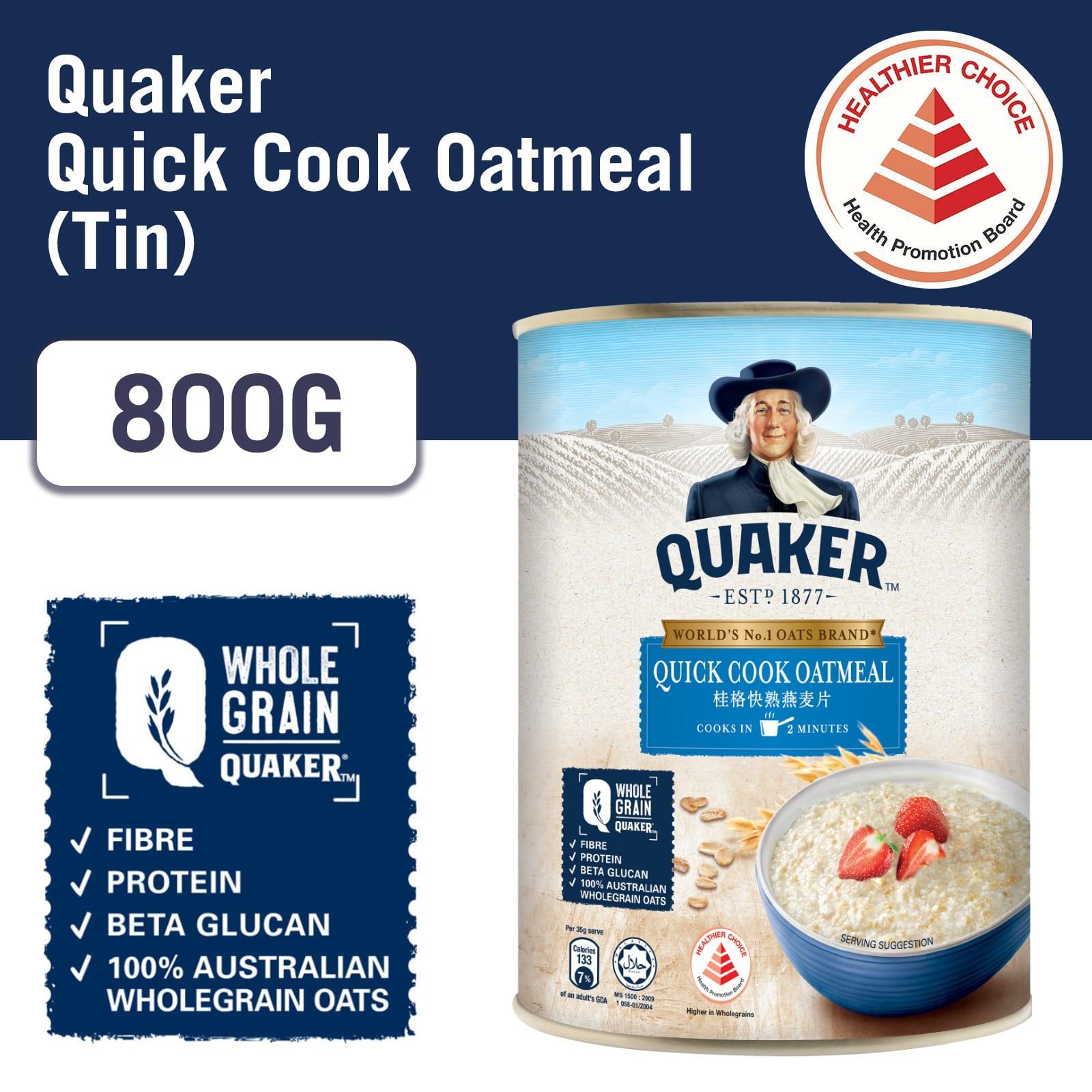 Quaker 100% Wholegrain Oatmeal - Quick Cook