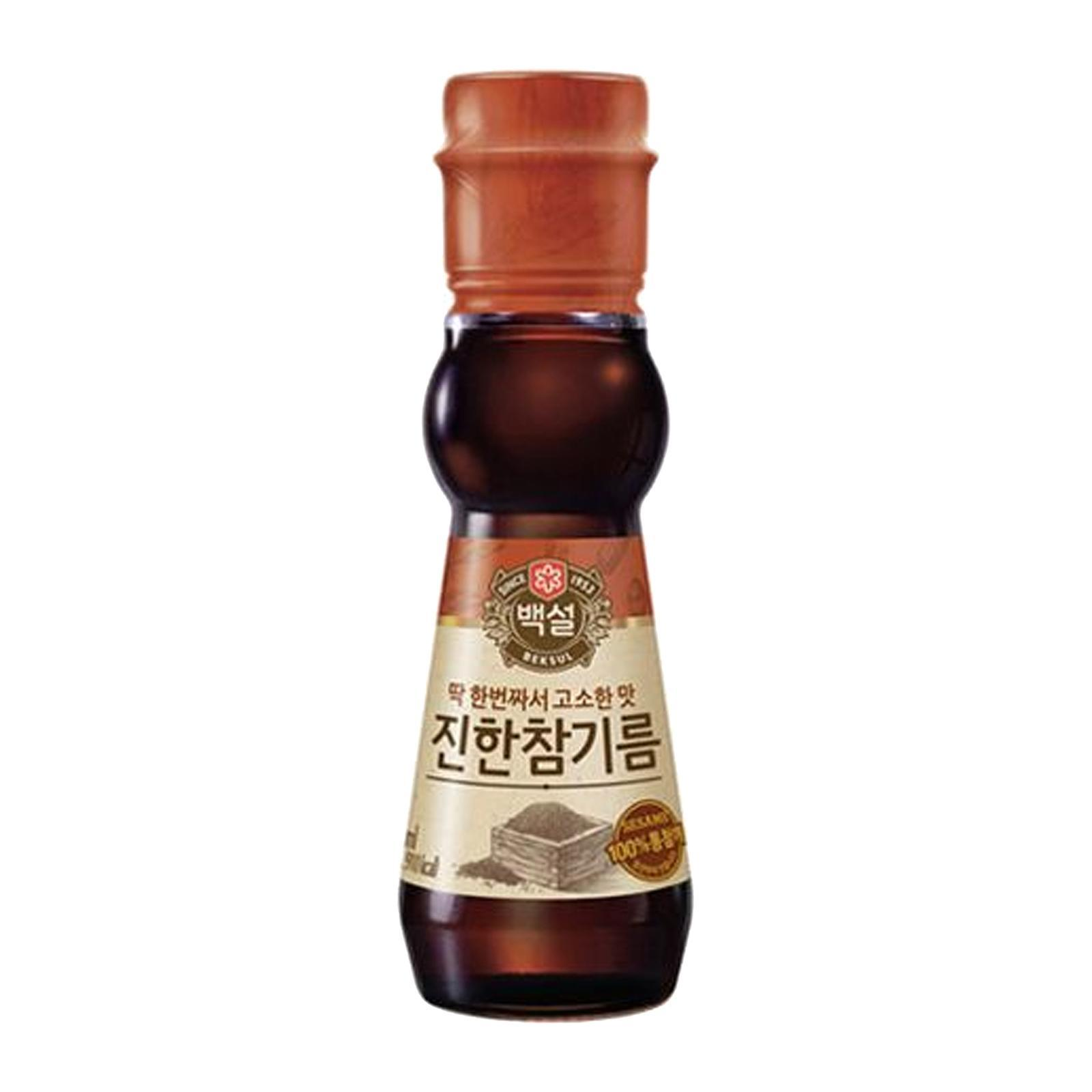 Cj Beksul Sesame Oil 110ml By Redmart.