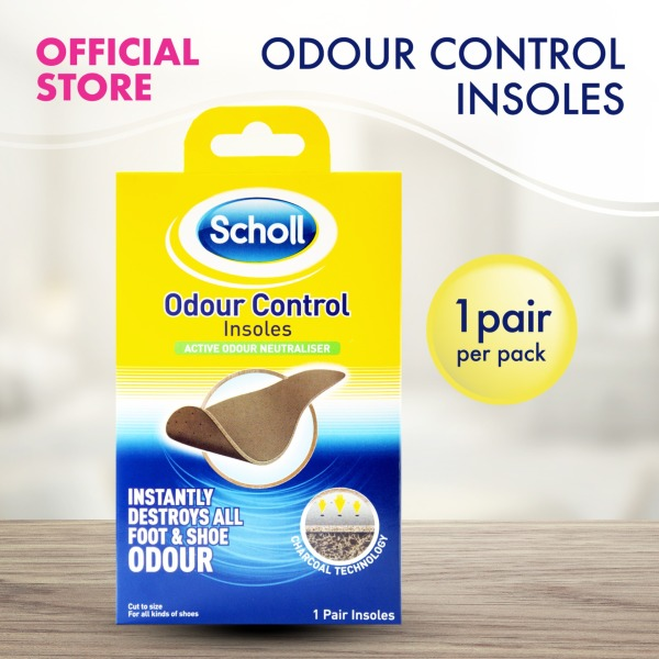 Buy Scholl Insoles for Odour Control Singapore