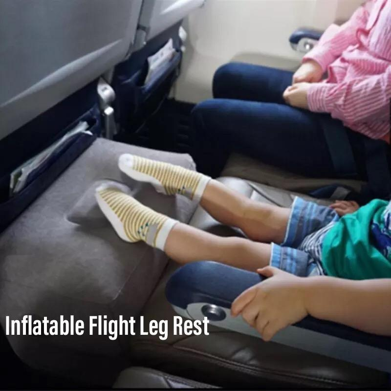 Baby Kids Airplane Flight Inflatable Leg Rest Travel Cushion Pillow By Fifthapparels.