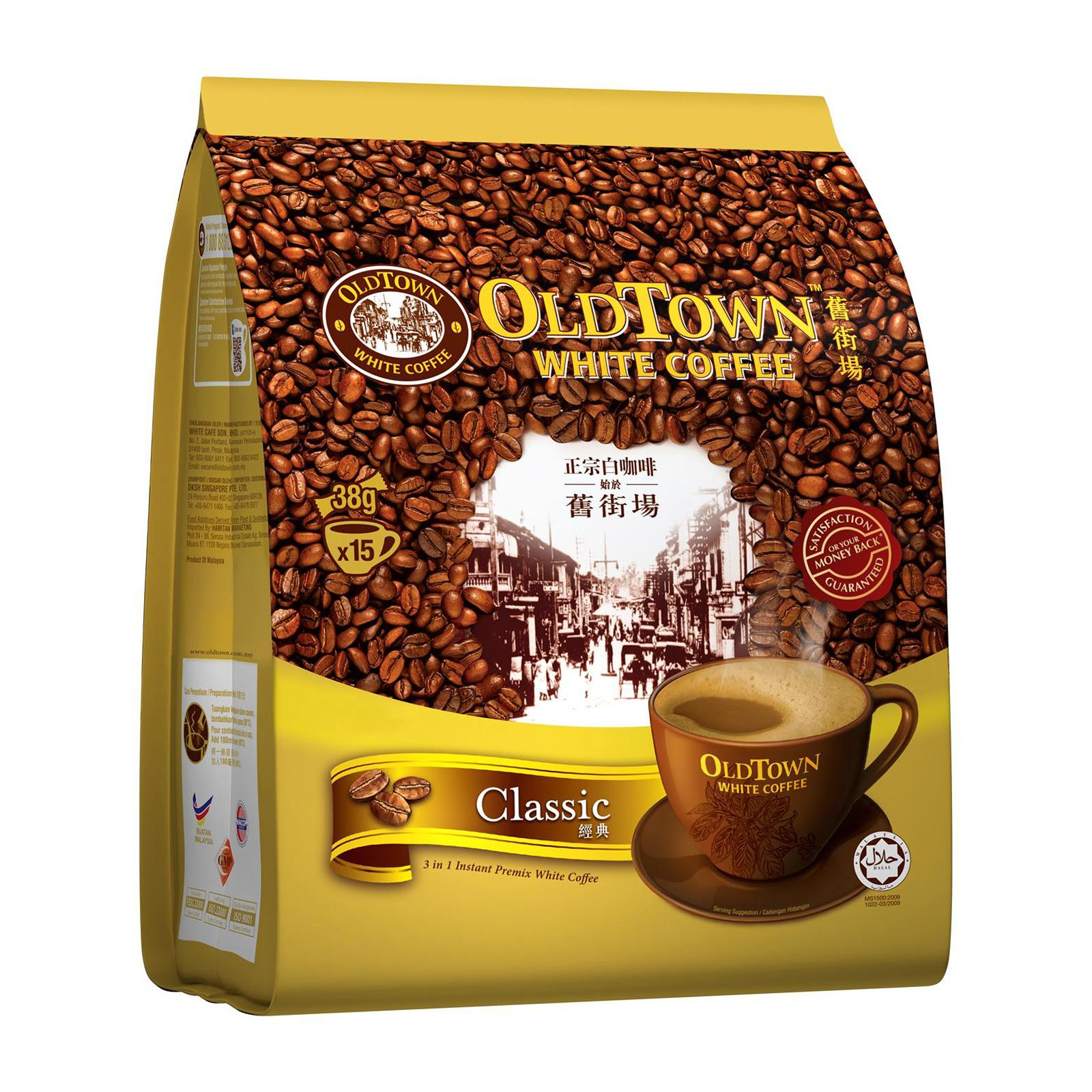 OLD TOWN White Coffee 3 in 1 Classic 15sX38g