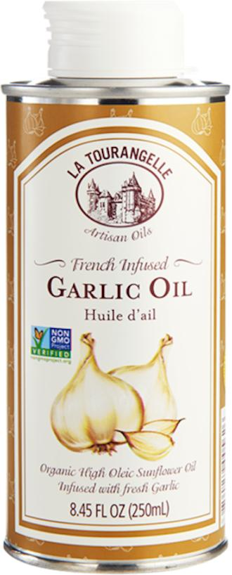 French Infused Garlic Oil 250ml Medium High Heat Cooking Sunflower Oil Infused With Fresh Garlic Distinctive Flavourful And All-Natural By La Tourangelle By Edvolution 66.