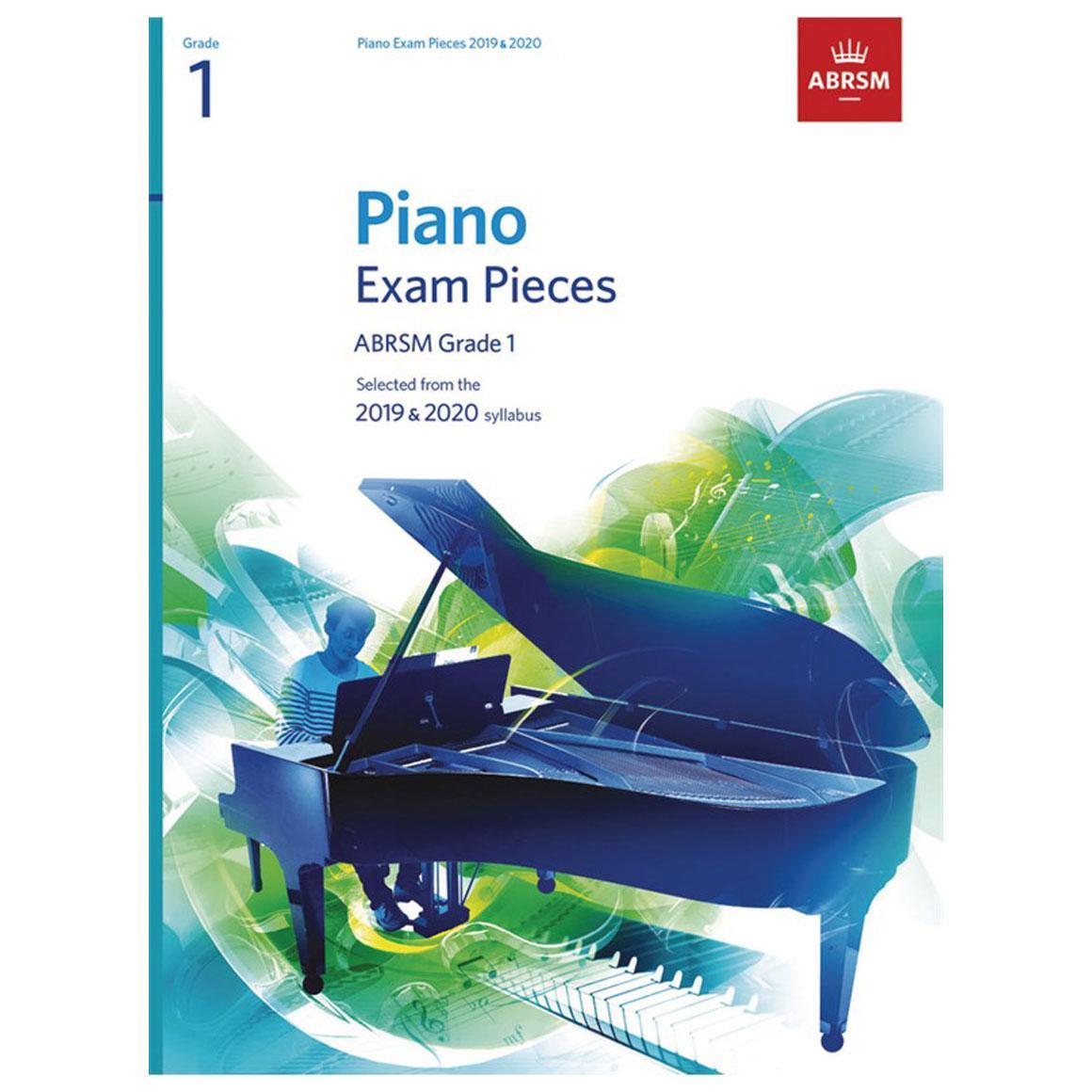 ABRSM Piano Exam Pieces 2019 2020 - Grade 1 (Book Only)