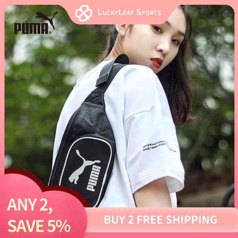 『luckyleaf Sports』puma 2020 Summer New Bodypack Mens Bag Womens Bag Fashion Leisure Sports Bag Printed Messenger Bag Shoulder Bag 076928-01.
