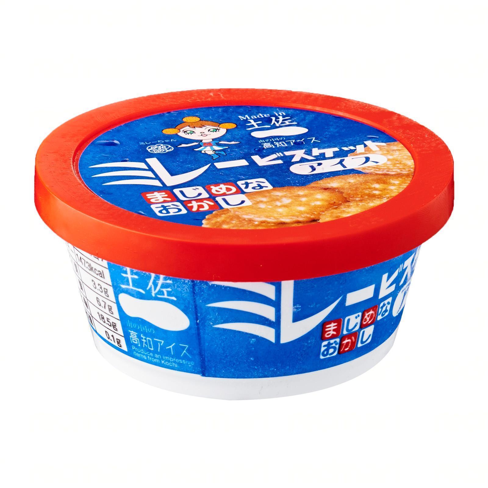 Kochi Ice Millets Milk Biscuits Ice Cream 100 ML - Kirei