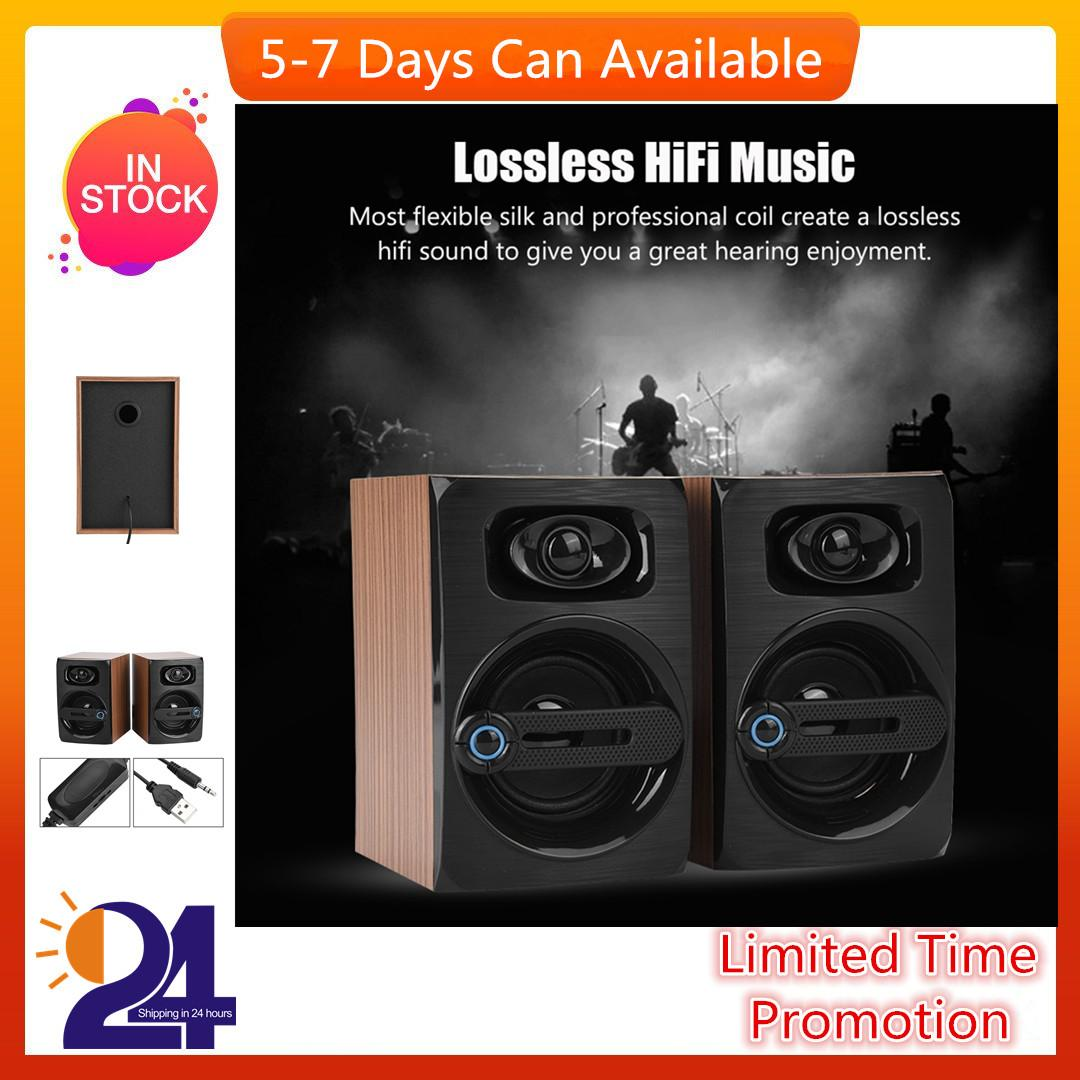 HiFi Lossless Music PC Speakers Bass Amplification Computer Speakers Noise Cancelling PC Subwoofer