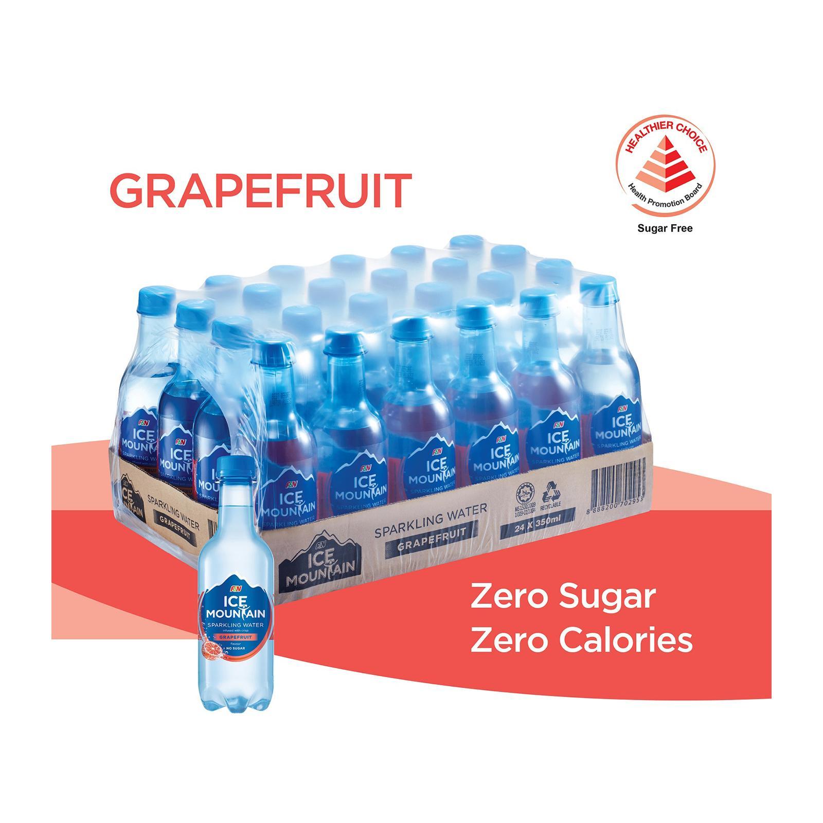 F&N Ice Mountain Sparkling Grapefruit - Case