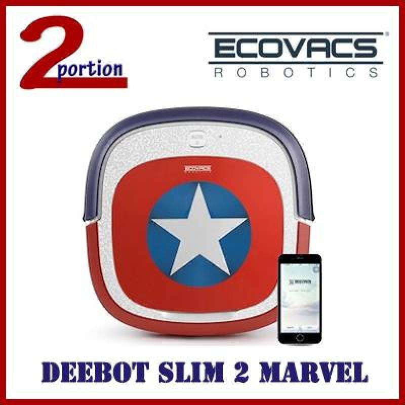 ECOVACS DEEBOT SLIM 2 MARVEL EDITION ROBOT VACUUM CLEANER WITH APP CONTROL FUNCTION Singapore