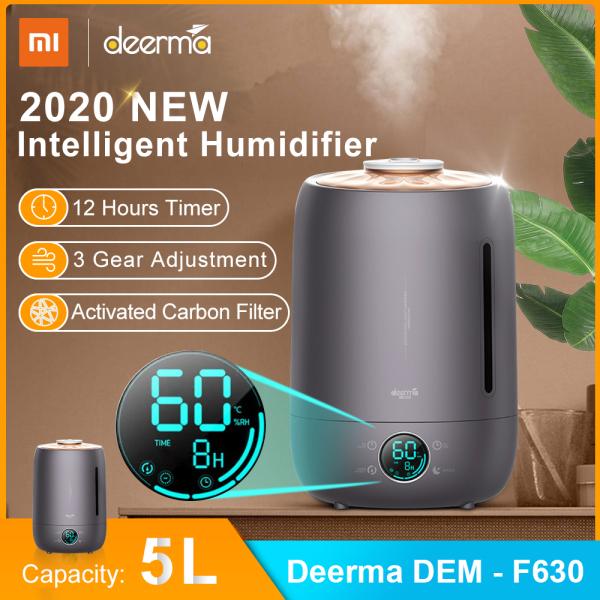Xiaomi Deerma DEM - F630 Air Humidifier 5L Large Capacity Quiet Aroma Ultrasonic Fog Creator Singapore