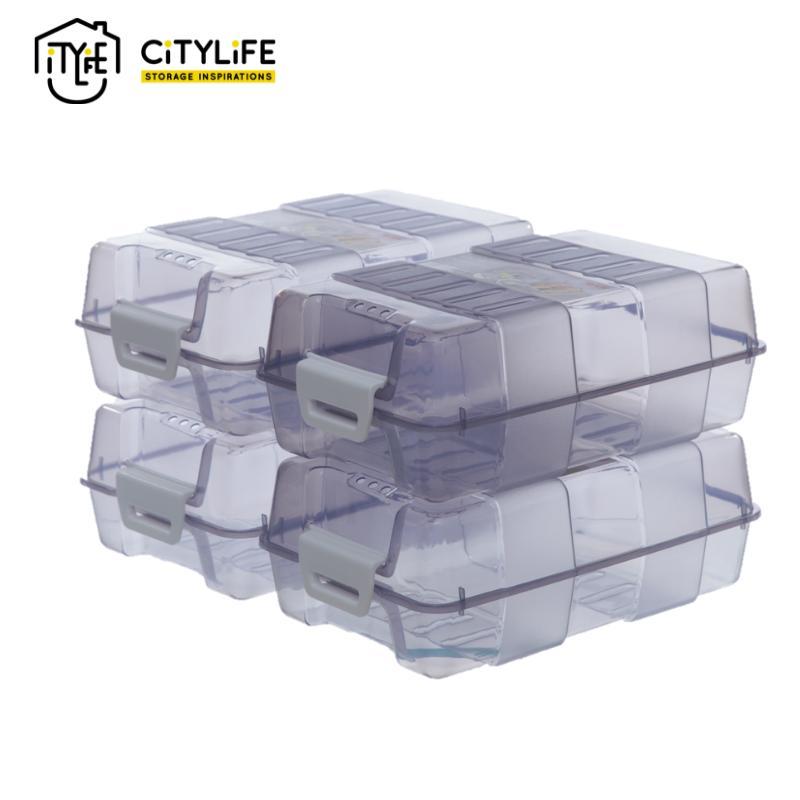 [BUNDLE OF 4] - Citylife - KIMI Shoe Box 8L
