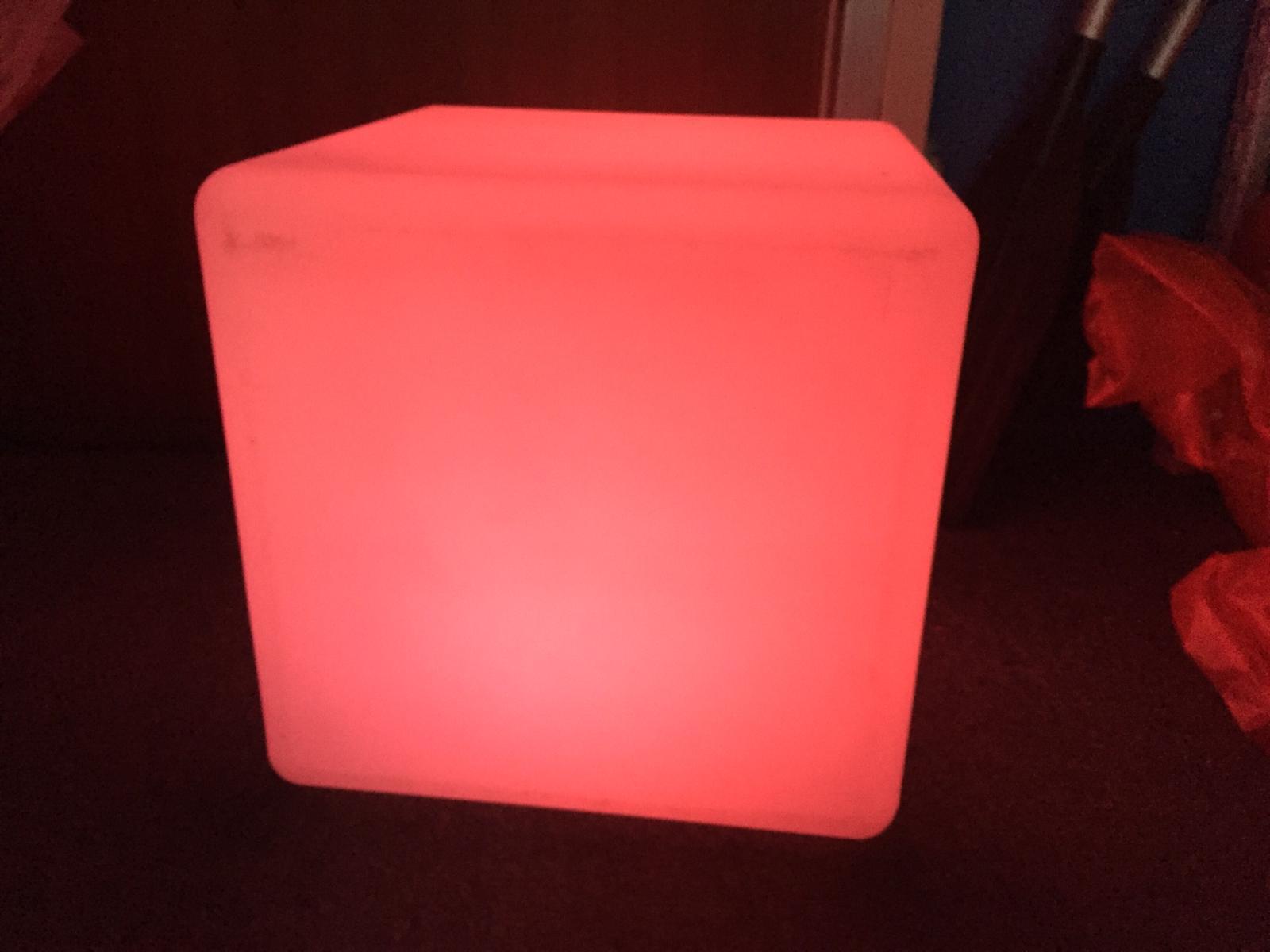 LED Light LED Cube/Colour Changing LED Furniture Cube /40cm/LED Seat