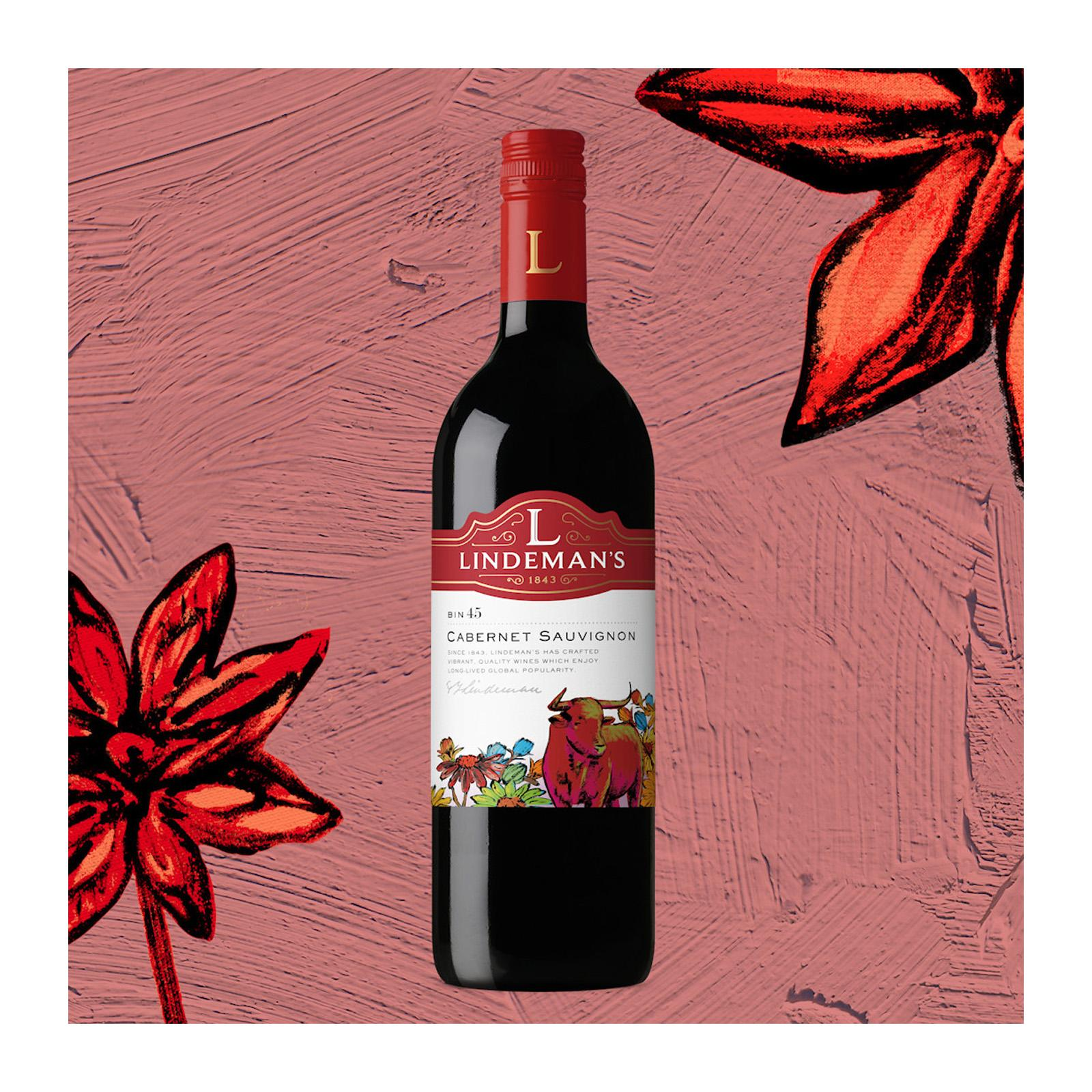 Lindeman's Bin 45 Cabernet Sauvignon Red Berry Flavour