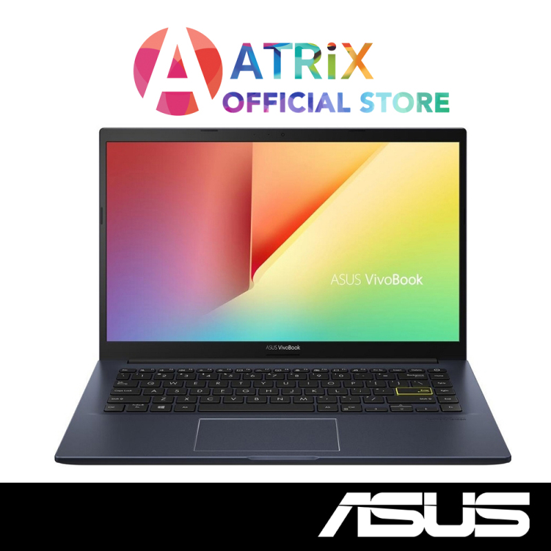 【Same Day Delivery】ASUS VivoBook 14 2020 X413EP-EK075T | Ultra Slim-1.4Kg | i7-1165G7 | 16GB DDR4 | 512GB PCIe SSD | MX330 Graphics | Win10 Home | 2Y Asus Warranty
