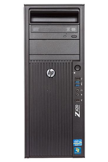 Hp Z420 Tower Workstation /intel Xeon Quad Core E5-1620 3.6ghz /16gb Ddr3/ New 1tb Sata Hdd /nvidia 410/ Win 10 Pro/ Refurbished By Le Infotech.