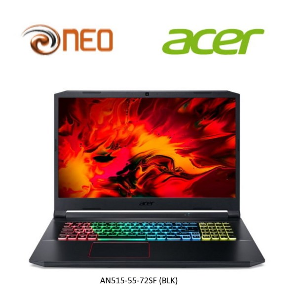 Acer Nitro 5 AN515-55-72SF 144Hz Refresh Rate Gaming laptop with 10th Gen Intel Core i7-10870H Processor [2021 MODEL]