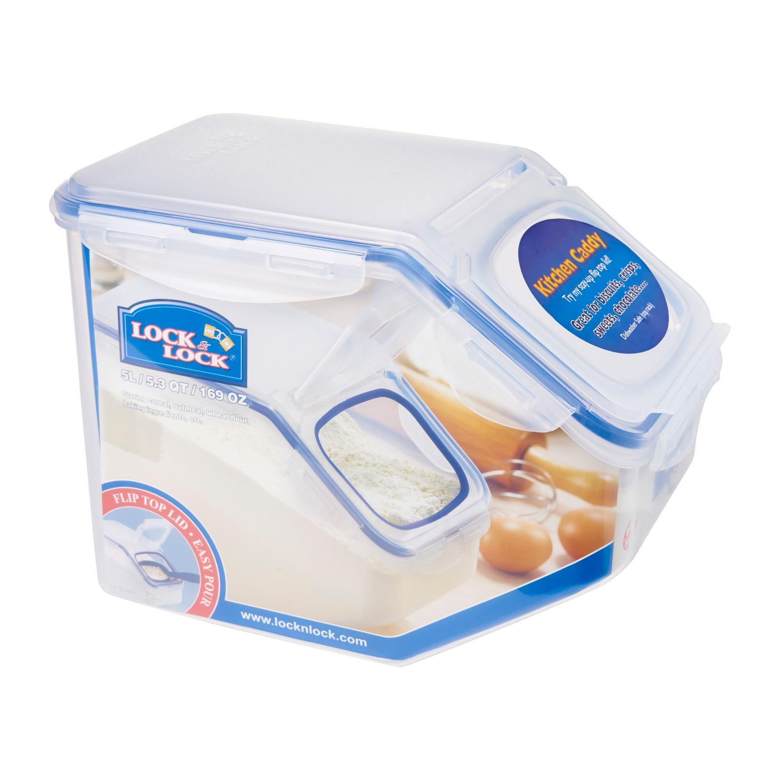 Lock and Lock Classic Food Container With Flip Lid
