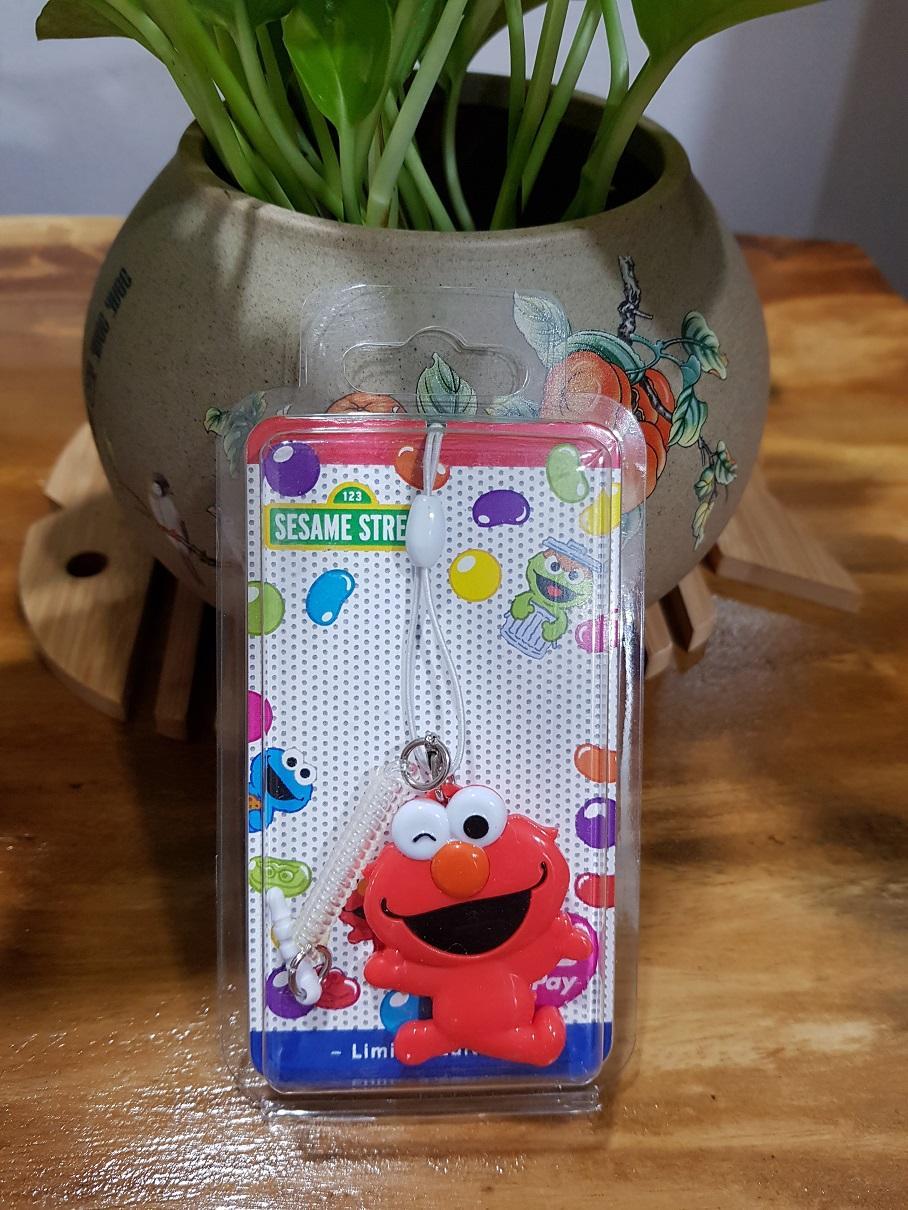 Sesame Street Elmo Flashpay ezlink charm