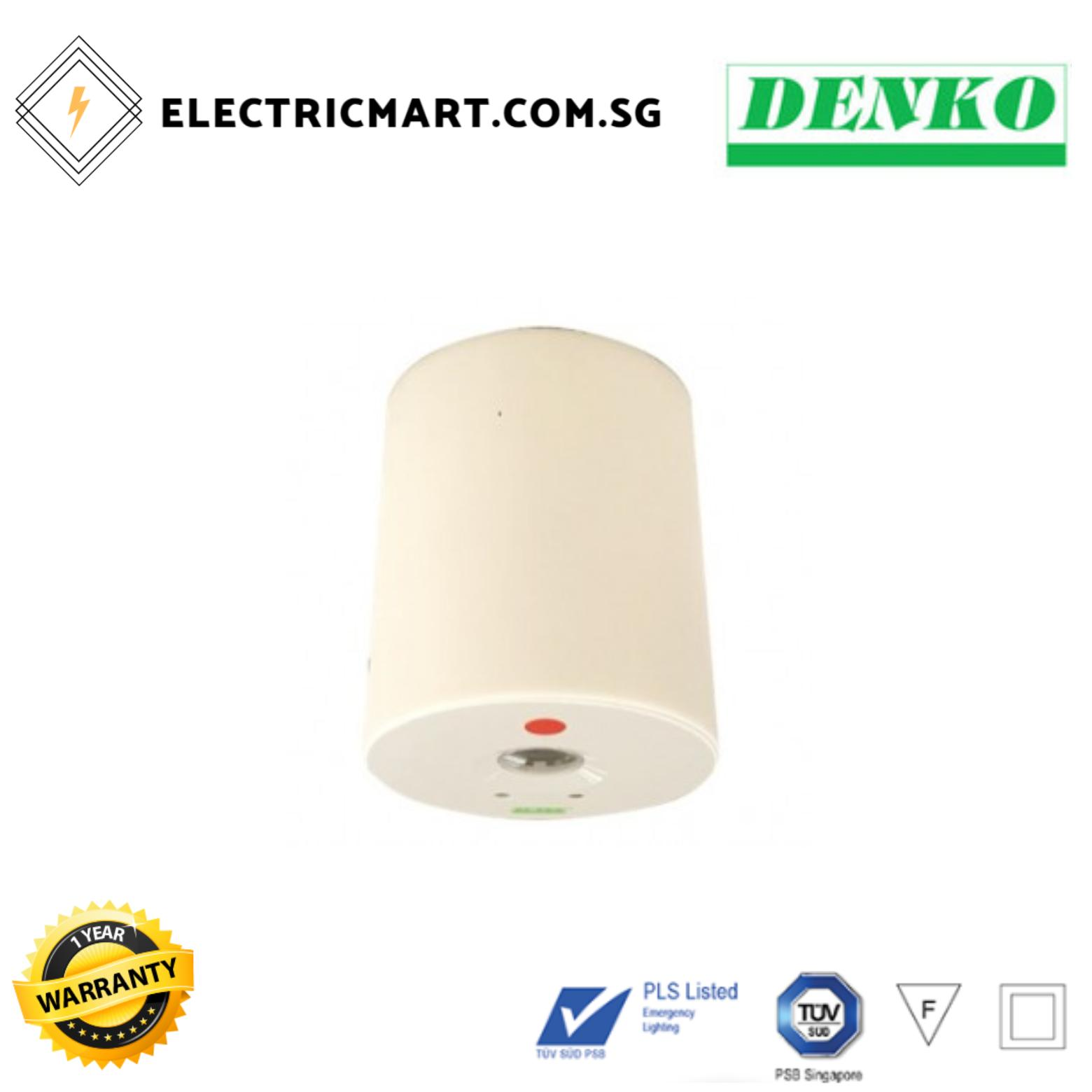 DENKO EmLED - 12NM EASI LED Surface Emergency Light
