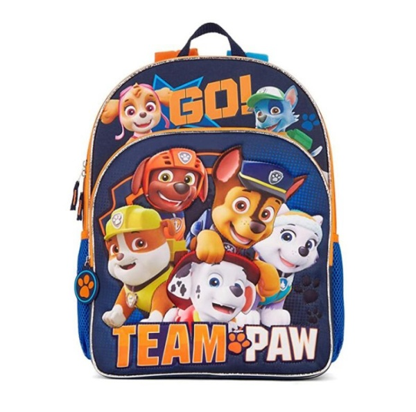 ❤️ Paw Patrol A4 Size School Bag 💕 Water Bottle Pouch / Zip School Backpack Travel Tuition Bag ❤️ Marshall Rubble Chase Cartoon Christmas Gifts Children School Bag WaterProof Diaper Bag Preschool Childcare Assessment Book Bag Coloring Stationary