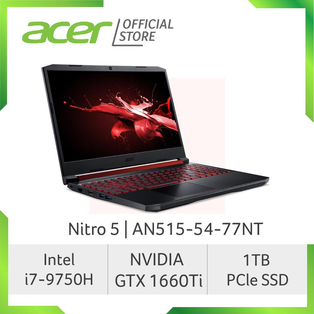 Acer Nitro 5 AN515-54-77NT NEW gaming laptop with NVIDIA GTX 1660Ti Graphics and 1TB PCle SSD