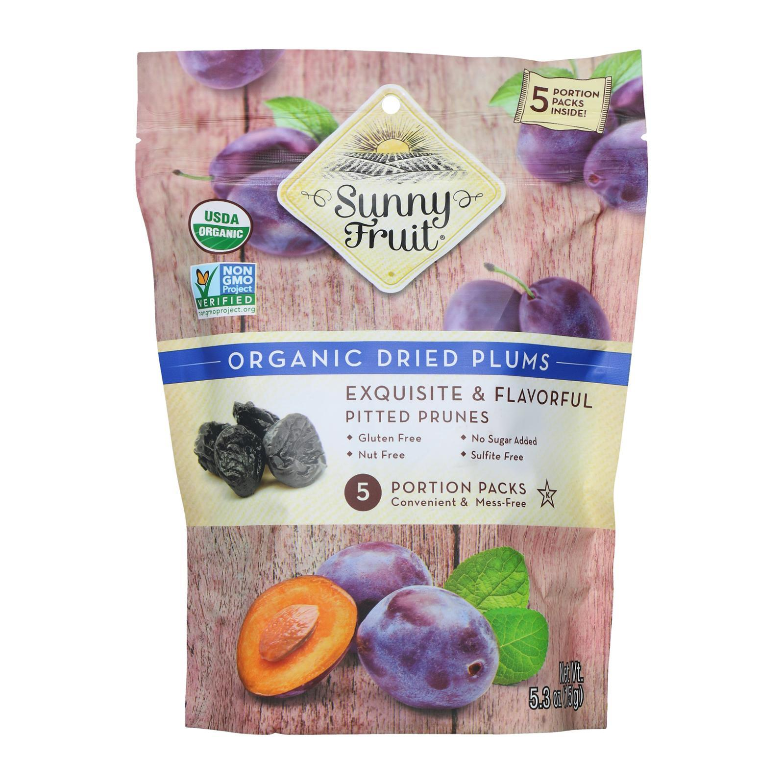 Sunny Fruit Organic Plums - By Wholesome Harvest