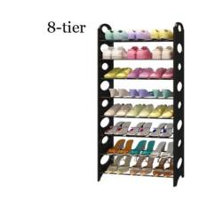 8 Tier Stackable Shoes Rack Shoe Rack Storage On Singapore