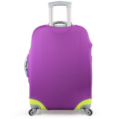 Sale 1 X Luggage Protector Elastic Suitcase Cover Bags Dust Proof Case 28 Purple China