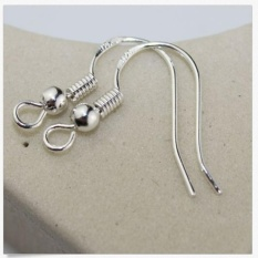 Purchase 100Pcs Diy Jewelry Findings 925Sterli Silver French Hook Earrings Ear Wires Beautiful And Handsome Intl Online