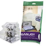 Latest 10Pcs Ganjoy Travel Space Saver Bags No Vacuum Needed Intl