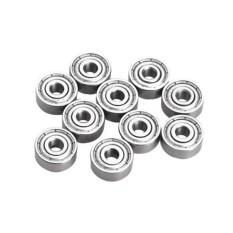 10pcs Miniature Ball Bearings Carbon Steel 623zz 3*10*4mm 3d Printers Parts - Intl By Vigo.