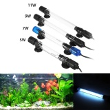 Great Deal 11W Submersible Uv Light Sterilizer Lamp For Aquarium Disinfect Fish Tank Intl