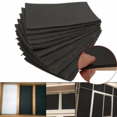 Best Deal 12 Sheets Car Auto Van Sound Proofing Deadening Insulation 10Mm Closed Cell Foam Intl