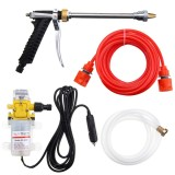 Cheap 12V 100W 160Psi High Pressure Car Washer Cleaner Water Wash Pump Sprayer Tool Intl