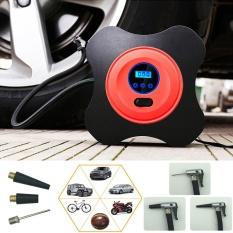 Best Buy 12V 40Psi Car Pump Air Compressor Auto Metal Mini Tire Compressor Electric Portable Tyre Inflatable Pump For Moto Bike Intl