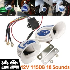 12V Electric Digital Siren Snail Loud 115Db Air Horns 18 Kind Sound Car Van Boat Intl Shopping
