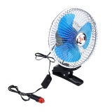Buy 12V 24V Portable Car Interior Dashboard Clip Cooling Cooler Oscillating Fan Intl Online China