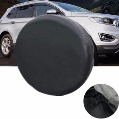 14 Soft Black Spare Tire Cover Wheel Covers For All Cars Tyre Diameter 60 69Cm Intl For Sale