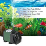 Deals For 1500L H 25W Submersible Water Pump For Aquarium Tabletop Fountains Pond Water Gardens And Hydroponic Systems With 2 Nozzles Ac220 240V Intl