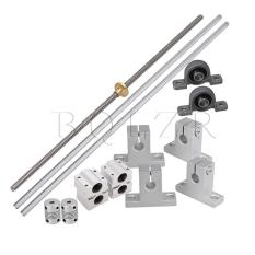 Compare Prices For 15X 8Cm Lead Rod 40Cm Linear Rail Shaft Supports Stepper Coupler Horizontal Intl