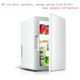 Price 18L Car Mini Portable Energy Saving Cold Hot Dual Purpose Refrigerator Intl On China